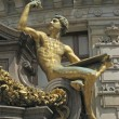 Stock Photo: Paris - golden statue