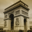 Paris - Triumph arch — Stock Photo #1917224