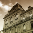 Ancient parisian building — Stock Photo
