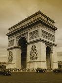 париж - триумфальная арка — Стоковое фото