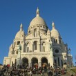 Stock Photo: Basilicof Sacre-Coeur in Paris