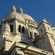 Basilica of Sacre-Coeur in Paris - Stock Photo