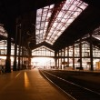 Stock Photo: Saint-Lazare train station in Paris