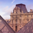 Stock Photo: Palate of Louvre in Paris