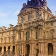 Palate of Louvre in Paris - Stock Photo