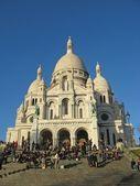 パリでのサクレクール聖堂 — ストック写真