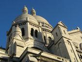 Basilica of Sacre-Coeur in Paris — Stockfoto