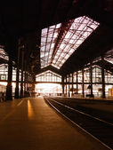 Saint-Lazare train station in Paris — Stock Photo
