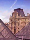 Palate of Louvre in Paris — Stock Photo