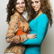 Stock fotografie: Two young happy woman