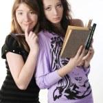 Two students portrait. — Stock Photo #2059323