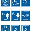 Handicap signs — Stock Photo #2068960