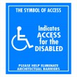 Handicap sign — Stock Photo #2589954