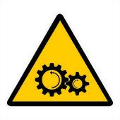 Warning Sign — Stock Photo