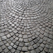 Stone block paving background — Stock Photo