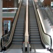 Royalty-Free Stock Photo: Double Escalator going up