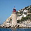 Mediterranean light house - Stock Photo