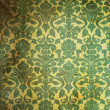 Green Vintage pattern — Stock Photo