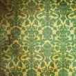 Stock Photo: Green Vintage pattern