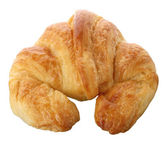 Fresh delicious croissant — Stock Photo