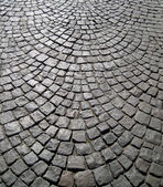 Stone block paving background — 图库照片