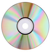 Cd dvd isolated — Stock Photo
