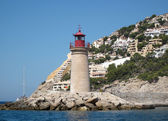 Mediterranean light house — Stock Photo