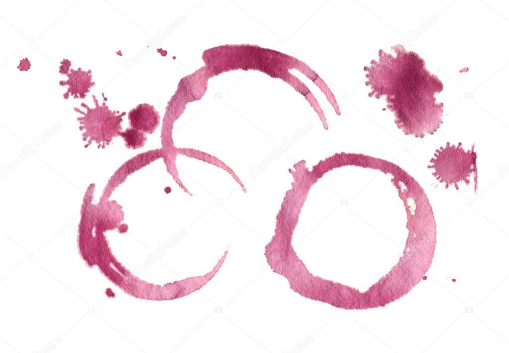 Red wine stain — Stock Photo #1906664