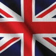 Stock Photo: UK flag