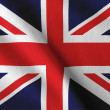 Royalty-Free Stock Photo: UK flag