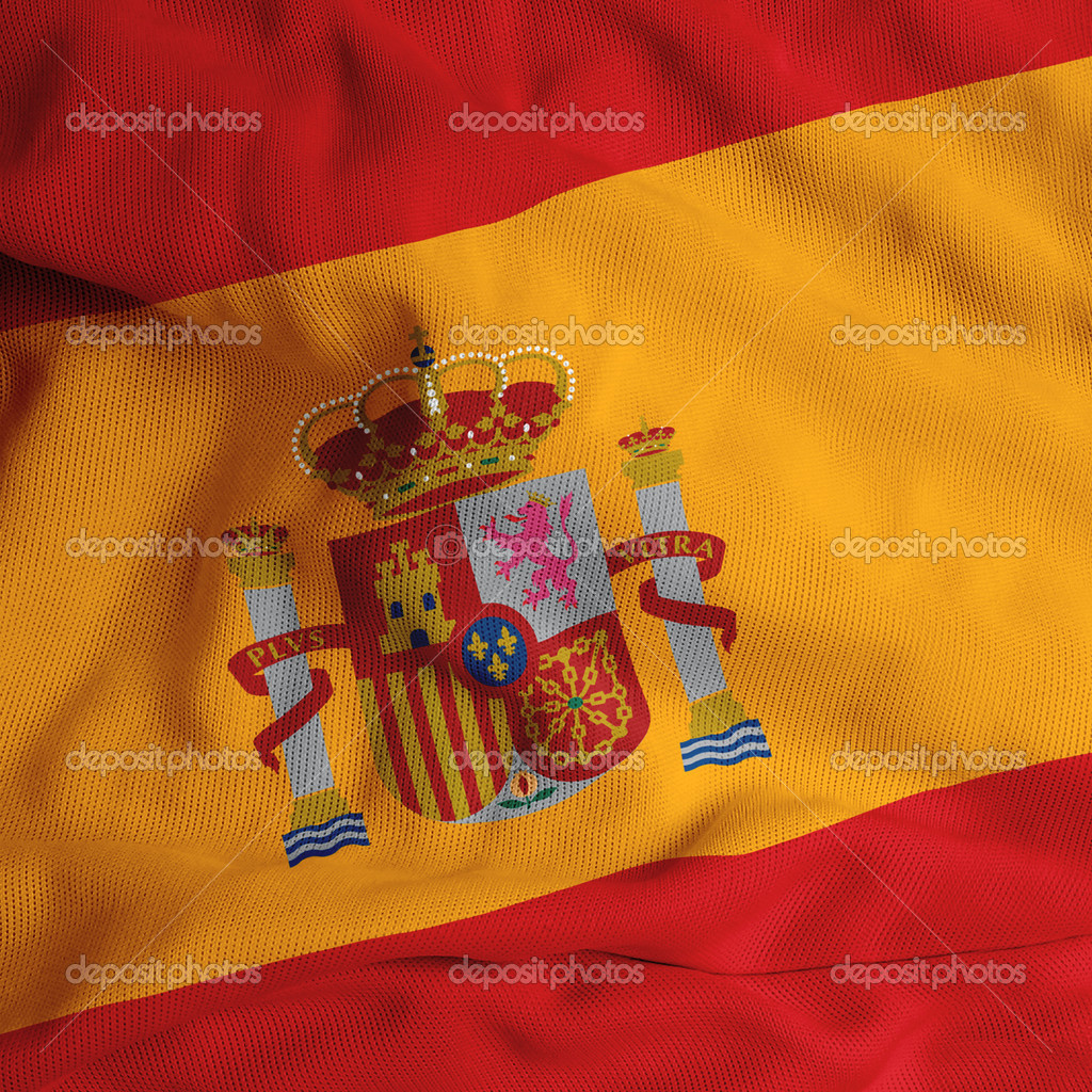 Spainish flag  Zdjcie stockowe #1984569