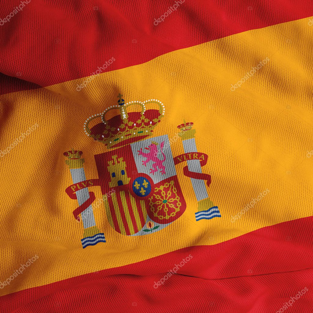 Spainish flag  Stock Photo #1984569