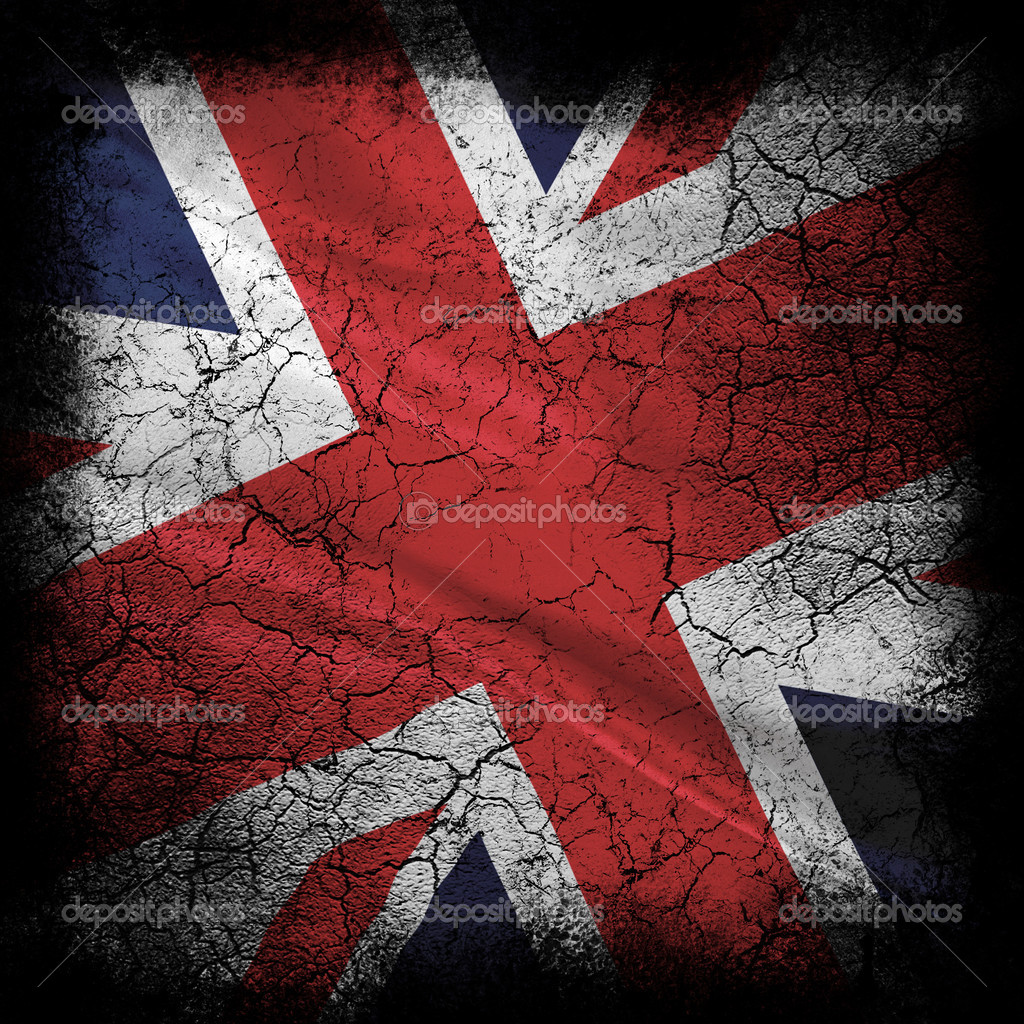 Grunge flag of united kingdom  — Stock Photo #2026488