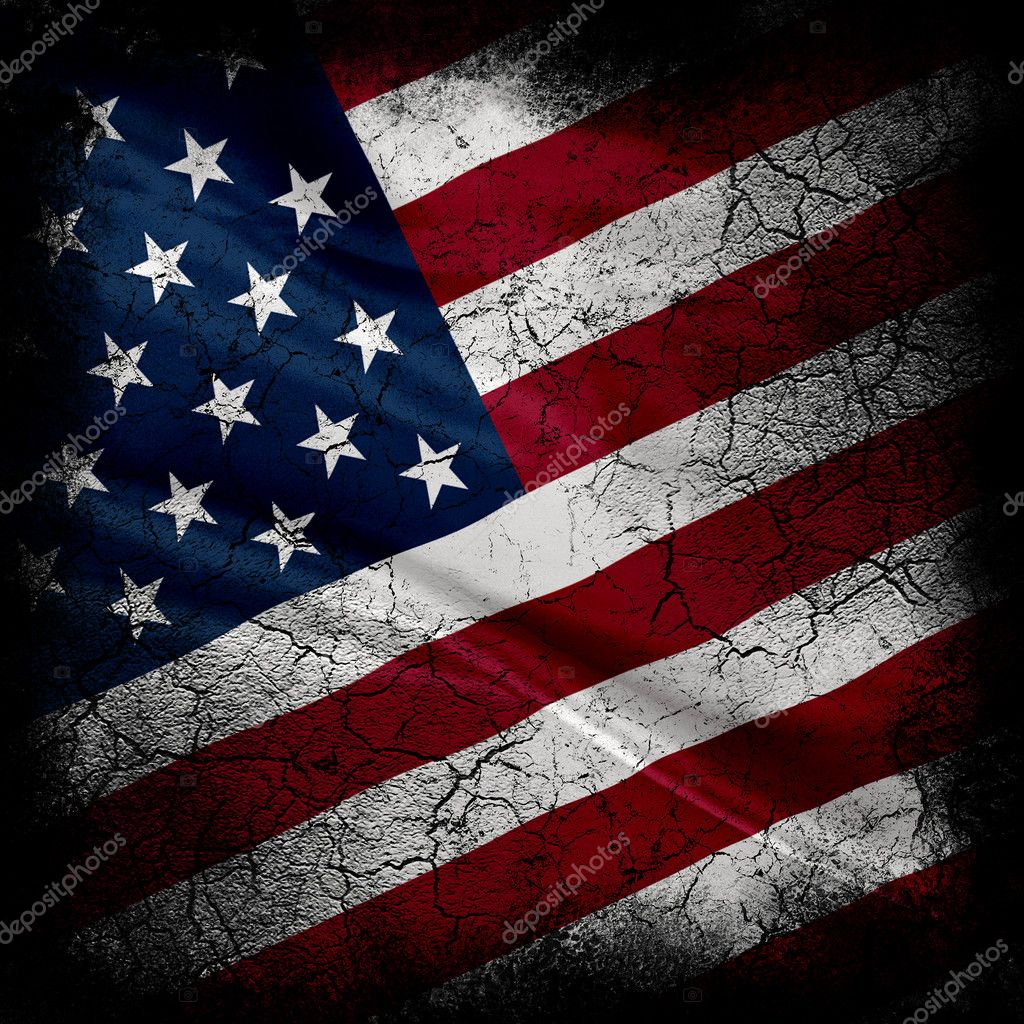 Grunge United States of America Flag  — Stock Photo #2026518