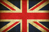 Британский флаг — Стоковое фото