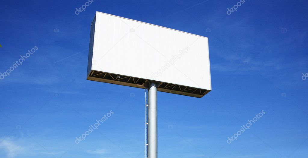 Big Blank Billboard   Stock Photo #2049617