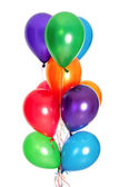Bunch of colorful balloons — Stock Photo