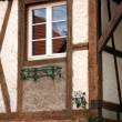 Royalty-Free Stock Photo: Detail of half-timberet house in France.