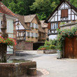 Stock Photo: Village in Alsace, France