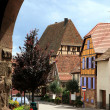 Village in Alsace, France — Stock Photo #1926454