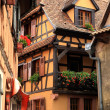 Village in Alsace, France - Stockfoto