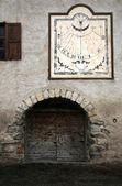 Nevache – small village in French Alps. — Stock Photo