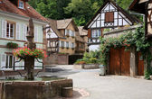 Village en alsace, france — Photo