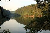 Robertville Lake in Belgium — Stock Photo