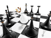 Chess: checkmate — Stock Photo