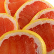 Cut grapefruit — Foto de Stock