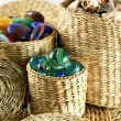Ornaments in wicker — Stock Photo #1904497