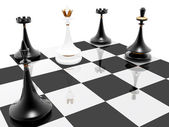 Chess: checkmate — Stock Photo
