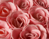 Aromatic soap - pink rose — Stock Photo