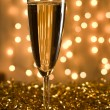 Royalty-Free Stock Photo: Golden champagne.
